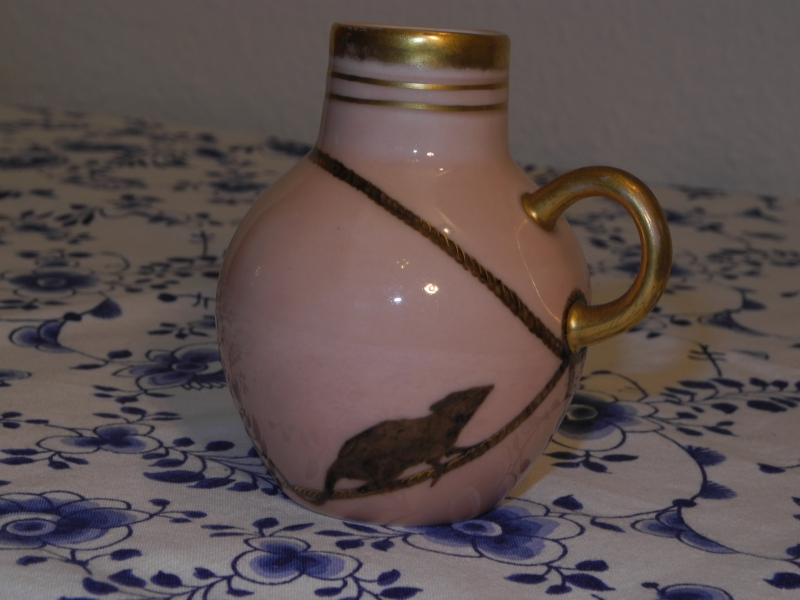 Rat on Rope Jug