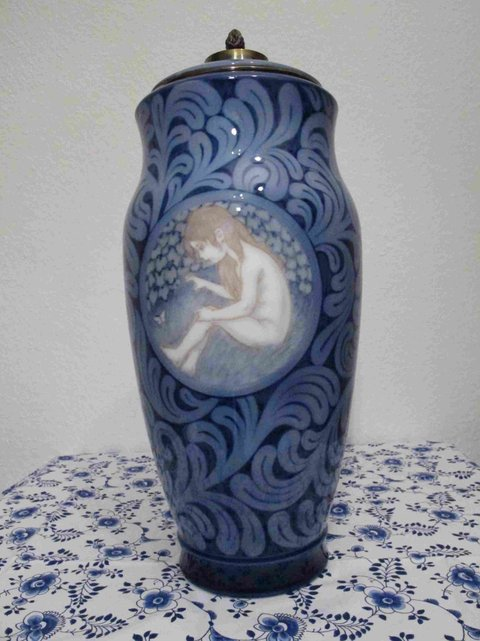 Children Medallion Vase