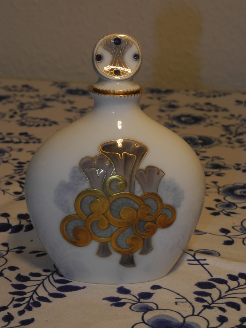 Art Nouveau Parfume Bottle