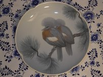 EHL - Crested Dove Plate