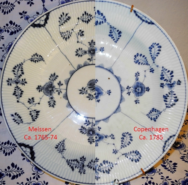 Royal Copenhagen Blue Fluted Plate