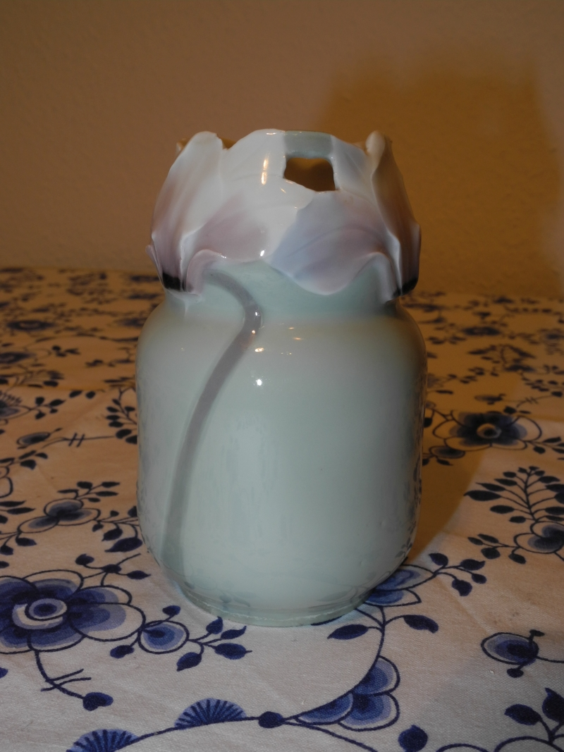 Small Waterlillies vase