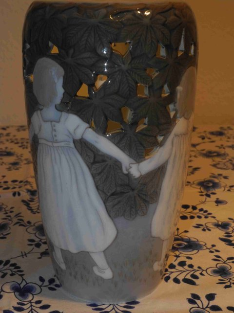 Dancing Girls  Vase