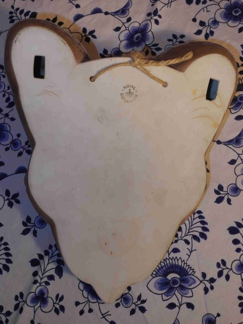Three Owl Wall  Vase